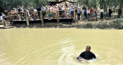 El río Jordán donde fue bautizado Jesús, se está secando
