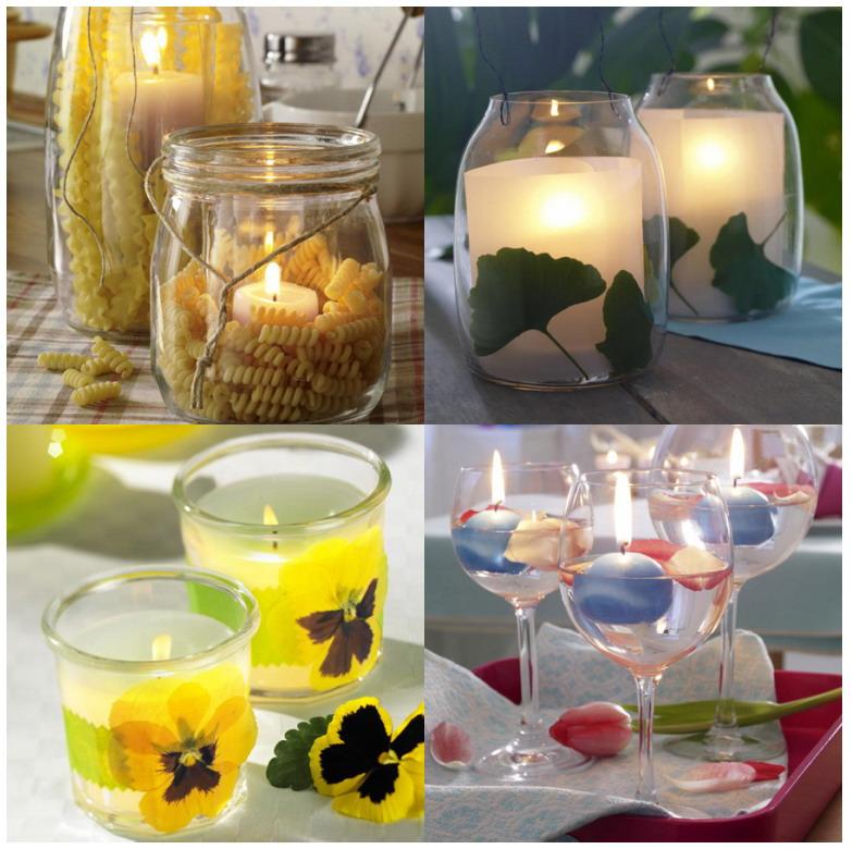 El jardin de los sue os ideas para velas for Decoracion del hogar con velas