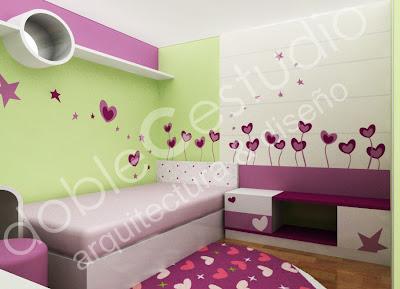 Decoracion de dormitorios juveniles deco ideas for Diseno de interiores habitaciones juveniles