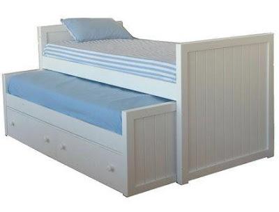 Camas dobles y triples para ninos ayuda a ahorrar espacio diseno de interiores - Dormitorios infantiles dobles ...