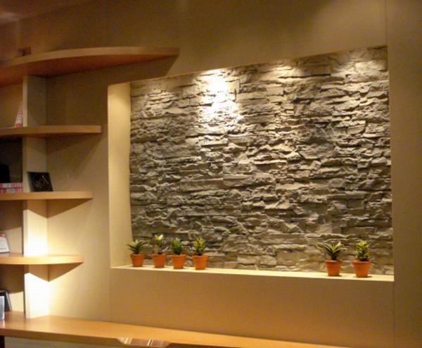 Decoracion de dormitorio acogedor que inspira calidez for Diseno de paredes para interiores