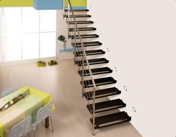 Escaleras para interiores interior designs photo for Escaleras baldosas ceramica