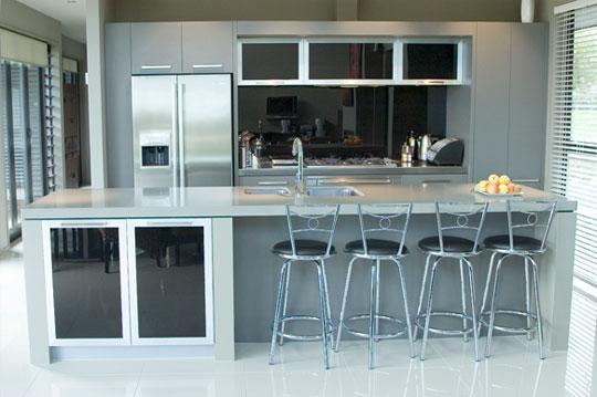 Pon linda tu casa mayo 2011 for Bar para cocina