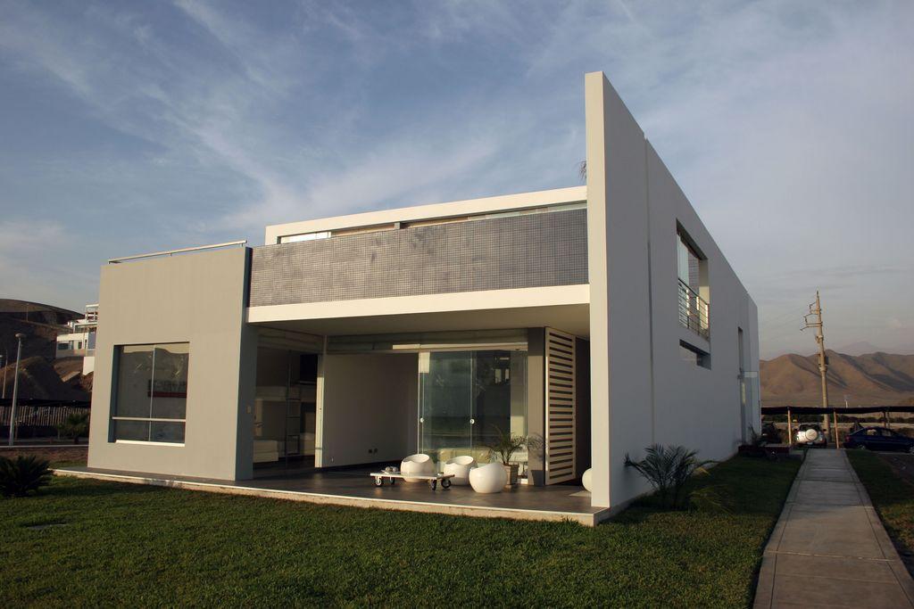 Diseno de casa playa bora bora peru por bucelli for Decoracion de casas de playa modernas