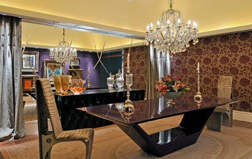 Comedor con espejos decoracion de comedores con espejos for Decoracion con espejos en comedor