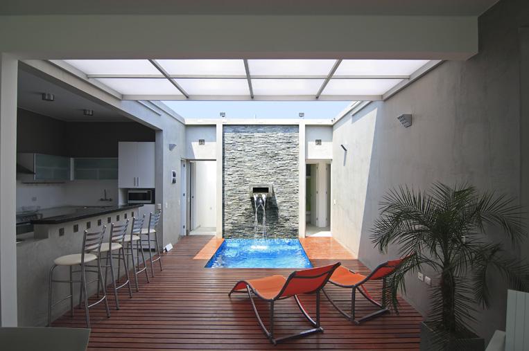 DE UNA CASA PLAYA EN ASIA  PERU  Diseño de Casas Home House Design