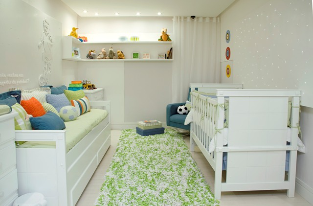 Interior sweet design decoracion de dormitorio para bebe for Dormitorio bebe varon