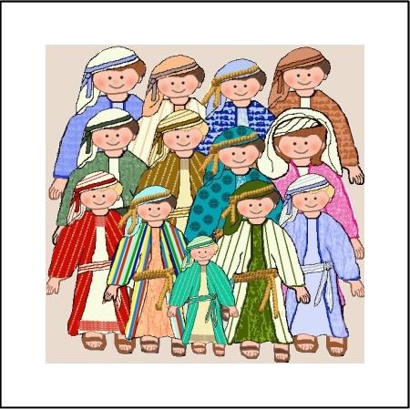the twelve sons of yaakov