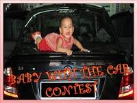 ::Baby With Car Contest::