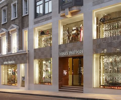 ARIA: LOUIS VUITTON NEW BOND STREET LONDON