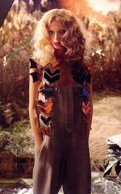 Lily Donaldson in Bazaar
