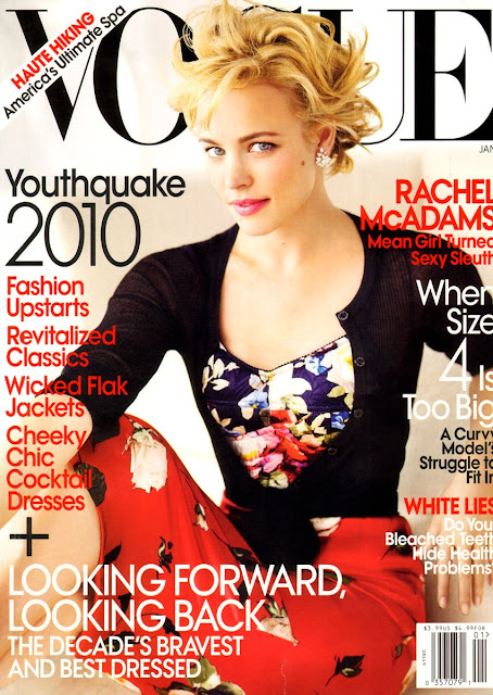 Rachel McAdams in Vogue