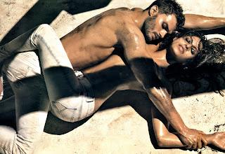 Eva Mendes revs up the sexy for Calvin Klein