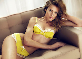 Natalia Vodianova is utterly sexy in lingerie