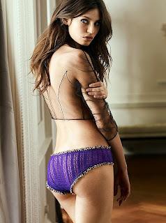 Supermodel Bianca Balti Lingerie Pictures