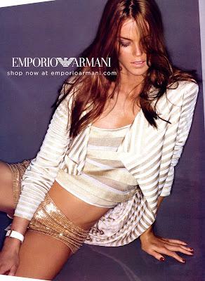 Shannan Click in Armani