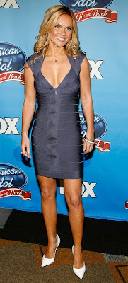 Geri Halliwell looking cute and tanned