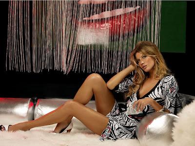 The sexy Gisele Bundchen