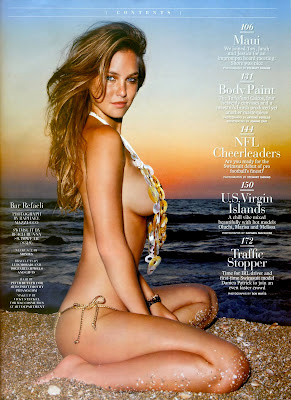 The fabulous Bar Refaeli in Sports Illustrated