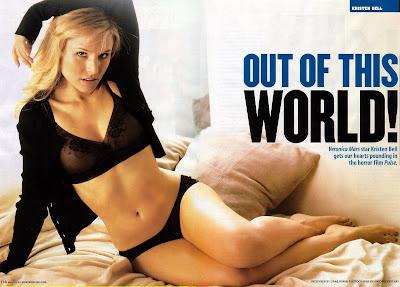 Kristen Bell in lingerie