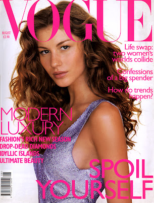 Gisele Bundchen - Vogue Covers