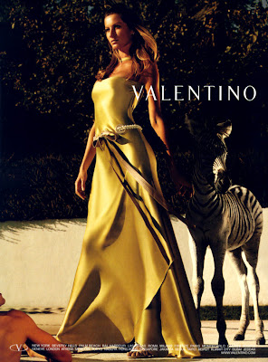 Gisele Bundchen for Valentino