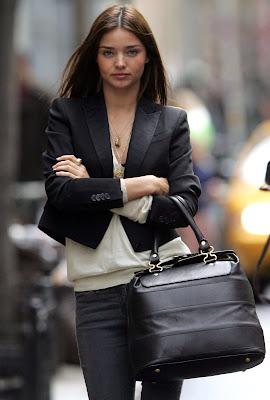 Model Miranda Kerr is ridiculously cute
