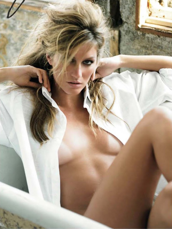 Gisele Bundchen is really sexy in American Photo