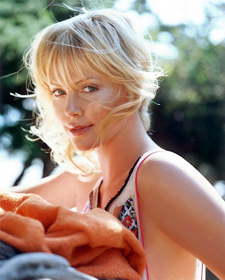 Charlize Theron is still very cute