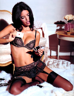 Adriana Lima in lingerie