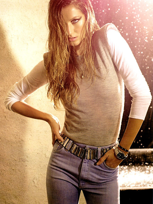 Gisele Bundchen is looking great in Elle