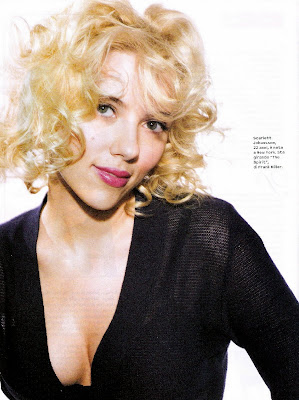 Scarlett in some magazine or the other