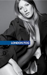 Gisele Bundchen for London Fog