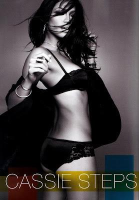 Cassie Ventura in lingerie