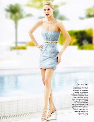 Doutzen Kroes in Vogue