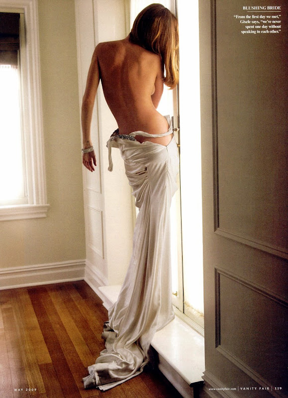 Gisele Bundchen in Vanity Fair