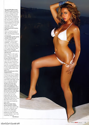 Sexy Emily Scott in Ralph in a bikini