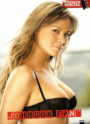 Terminator Star Moon Bloodgood in a bikini