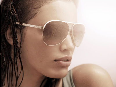 Rianne Ten Haken in a swimsuit in Vogue