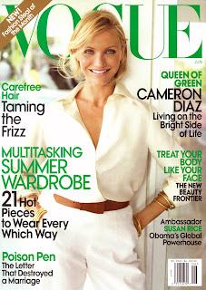 Cameron Diaz in Vogue