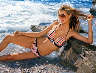 Catrin Claeson is gorgeous in a bikini