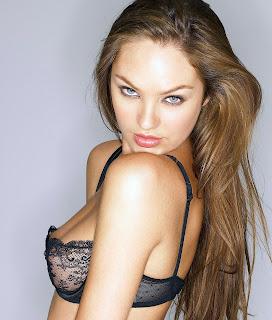 Super Sexy Candice Swanpoel in lingerie