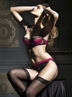 Juliana Martins in sexy lingerie