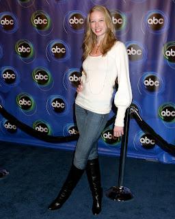 Rachel Nichols in boots
