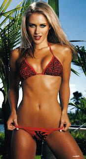 Nicky Whelan looks gorgeous in a bikini