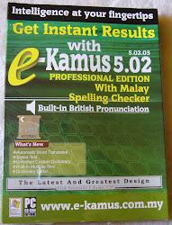 Kamus Elektronik Inggeris-Melayu. RM80