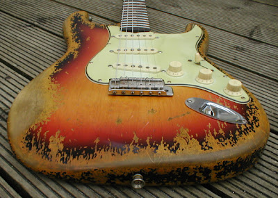 John Elliot Bravewood Relic Strat