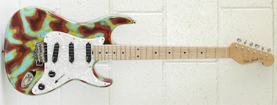 Grosh Guitars Classic Tie Dye