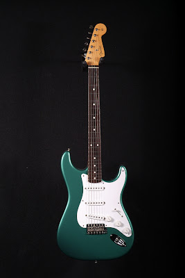 Thin Skin Strat Sherwood Green