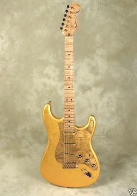 Fender Eric Clapton Gold Leaf Strat